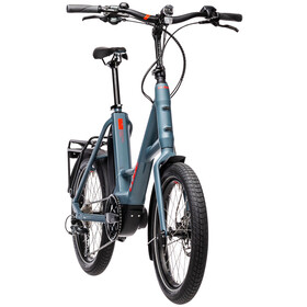 Cube Compact Hybrid Sport, blue'n'red